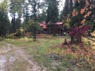 Whitefish, Olney Single Family Home For Sale: 1275 Good Creek Road