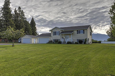 Kalispell Single Family Home Under Contract with Bump Claus: 23 Addison Court