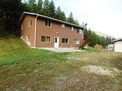 Ravalli County Single Family Home For Sale: 7423 Us-93