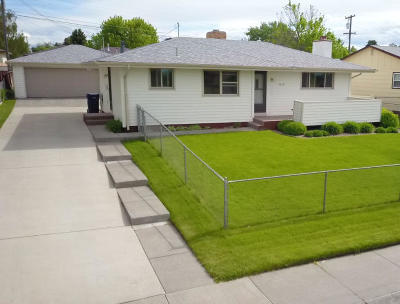 Great Falls Single Family Home Under Contract Taking Back-Up : 4616 3rd Avenue South