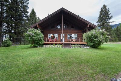 Flathead County Single Family Home For Sale: 10045 Us-93