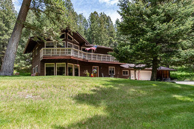 Flathead County Single Family Home For Sale: 695 Foys Canyon Road
