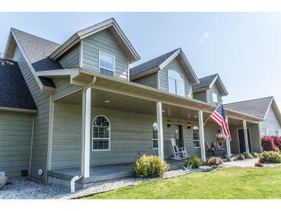 Hamilton Single Family Home For Sale: 185 Upper Sky Way