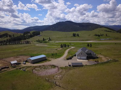 Helena Single Family Home For Sale: 7310 West Highway 12