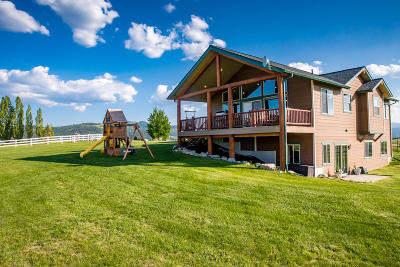 Kalispell Single Family Home Under Contract with Bump Claus: 35 Morning View Way