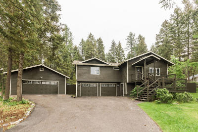 Whitefish Single Family Home For Sale: 210 Mallard Loop