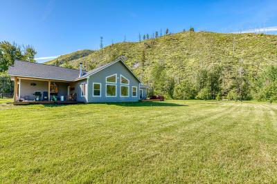 Hamilton Single Family Home For Sale: 1651 Skalkaho Hwy