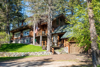 Flathead County Single Family Home For Sale: 2100 Four Mile Drive