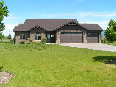 Kalispell Single Family Home For Sale: 1047 Pheasant Haven Drive