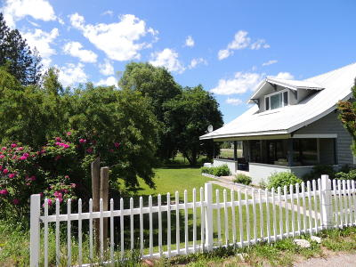 Mineral County Single Family Home For Sale: 1466 Southside Road
