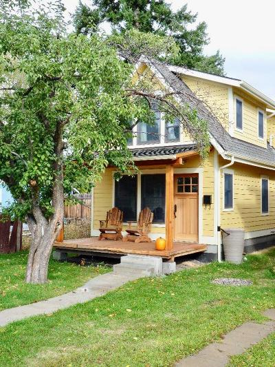 Missoula County Single Family Home For Sale: 434 North 1st Street West
