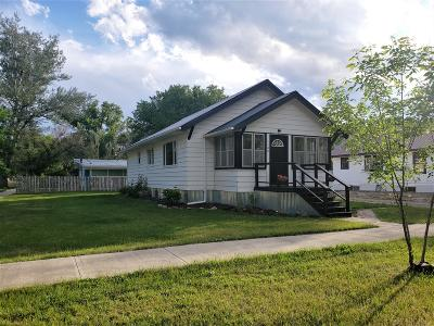 Fort Benton Single Family Home For Sale: 1100 17th Street