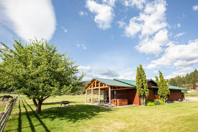 Darby Single Family Home For Sale: 171 Bunkhouse Road