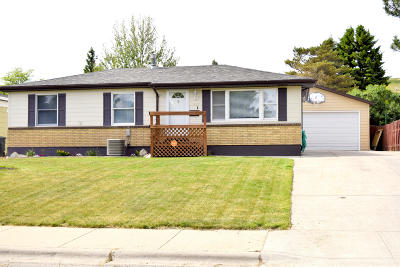 Great Falls Single Family Home Under Contract Taking Back-Up : 927 Ave C North West