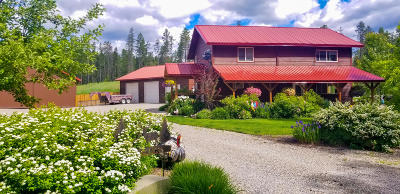 West Glacier, Polebridge Single Family Home For Sale: 1004 Belton Stage