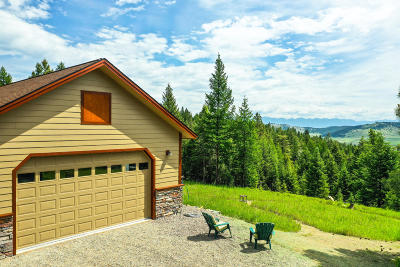 Flathead County Single Family Home For Sale: 1587 North Ranch Hill Road