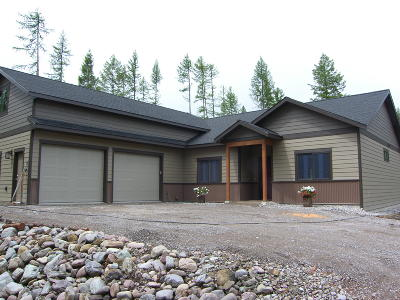 Kalispell Single Family Home Under Contract Taking Back-Up : 125 Horseshoe Drive