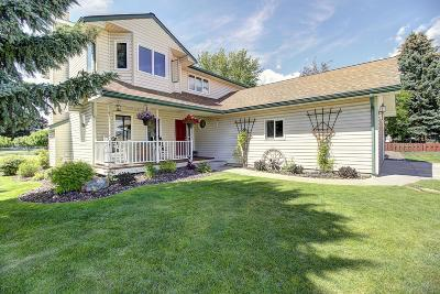 Flathead County Single Family Home Under Contract Taking Back-Up : 2320 Mission Trail