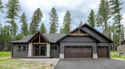 Columbia Falls Single Family Home For Sale: 1102 Timber Ridge Court