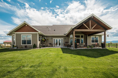 Kalispell Single Family Home For Sale: 55 Fox Farm Trail