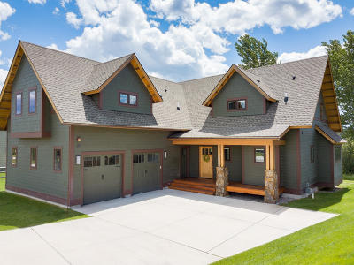 Missoula Single Family Home Under Contract Taking Back-Up : 1533 Angelina Way