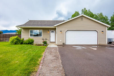 Flathead County Single Family Home For Sale: 249 Sleepy Horse Lane