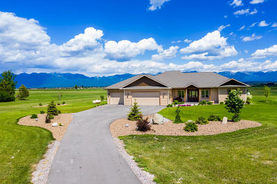 Kalispell Single Family Home For Sale: 405 Sky Ranch Lane