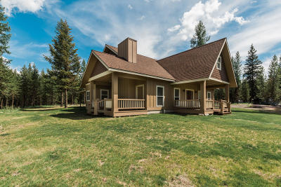 Flathead County Single Family Home For Sale: 1127 Marion Hubbart Spur