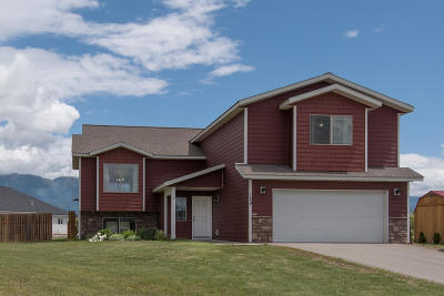 Flathead County Single Family Home For Sale: 129 Aeneas View Drive