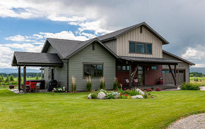 Flathead County Single Family Home For Sale: 92 Wintercrest Ridge