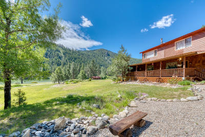 Ravalli County Single Family Home For Sale: 7083 Nez Perce Road
