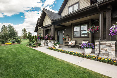 Flathead County Single Family Home For Sale: 460 Spring Prairie Road