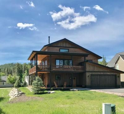 Whitefish Single Family Home For Sale: 137 Stumptown Loop