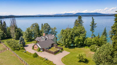 Polson Single Family Home For Sale: 33233 Mt-35