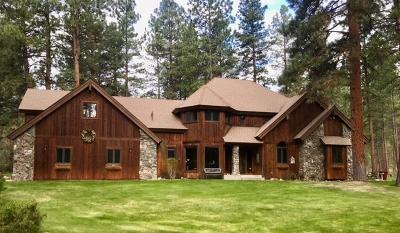 Ravalli County Single Family Home For Sale: 643 Bobcat Lane