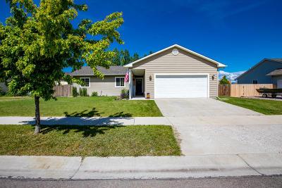 Kalispell Single Family Home Under Contract Taking Back-Up : 2149 Merganser Drive
