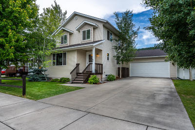 Kalispell Single Family Home Under Contract Taking Back-Up : 1938 Teal Drive