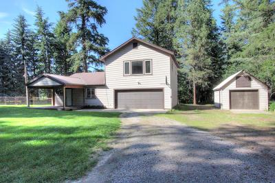 Kalispell Single Family Home Under Contract Taking Back-Up : 1442 Lake Blaine Road