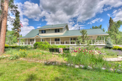 Ravalli County Single Family Home For Sale: Nkn Mill Creek Hideaway