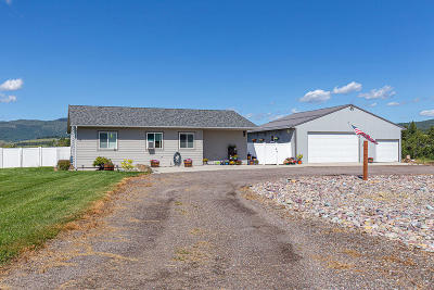 Kalispell Single Family Home Under Contract Taking Back-Up : 289 Gray Lane