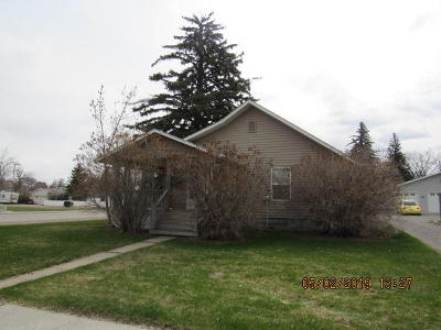 Conrad Single Family Home For Sale: 401 South Wisconsin Street