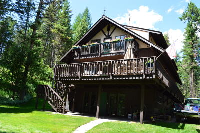 Whitefish Single Family Home For Sale: 245 Twin Lakes Road