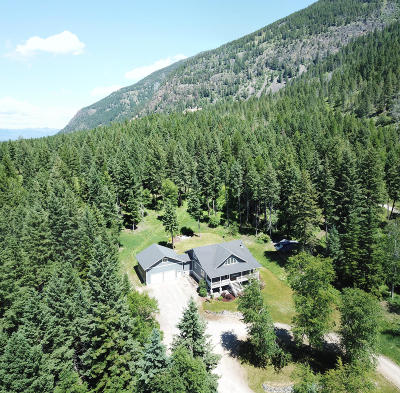 Kalispell Single Family Home Under Contract Taking Back-Up : 492 Blaine Mountain Road