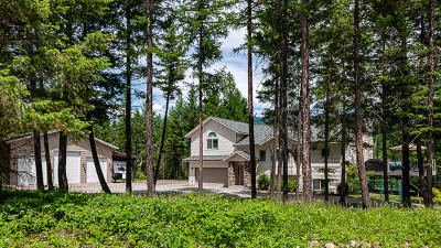 Kalispell Single Family Home For Sale: 264 East Many Lakes Drive