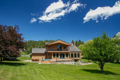 Polson MT Single Family Home For Sale: $549,000
