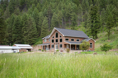 Missoula Single Family Home For Sale: 16250 Highway 93 North
