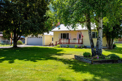 Kalispell Single Family Home Under Contract Taking Back-Up : 332 Helena Flats Road