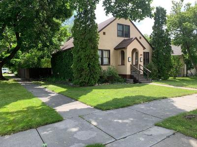 Kalispell Single Family Home Under Contract Taking Back-Up : 705 3rd Avenue West