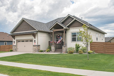 Kalispell Single Family Home For Sale: 123 East Swift Creek Way