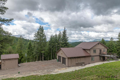 Kalispell Single Family Home Under Contract Taking Back-Up : 2199 Haywire Gulch